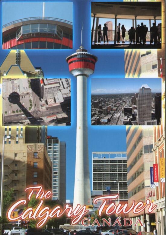 Wieża w Calgary (Calgary Tower)
